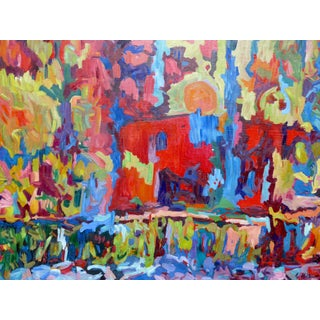 Monumental Abstract House Painting