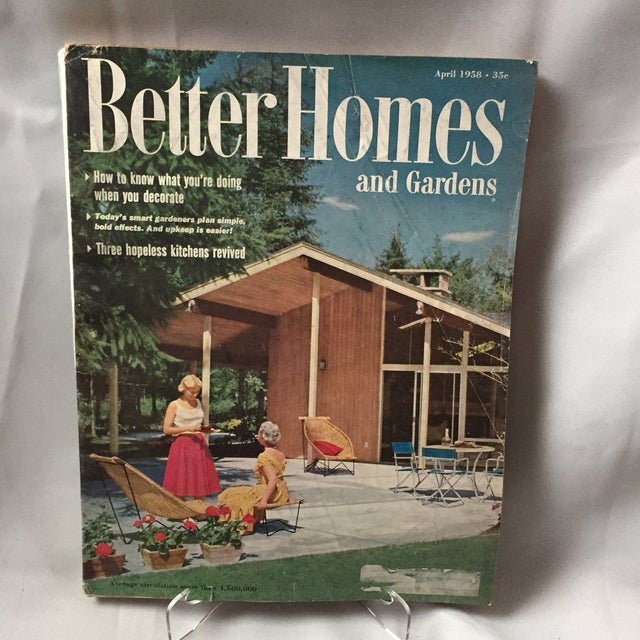 1958 better homes gardens magazine collection set of 12 chairish Better homes and gardens website