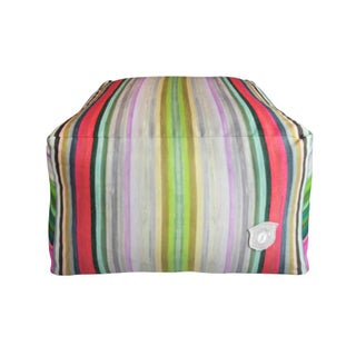 "Kristi Kohut ""Chromatic Harmony"" Artwork Printed Pouf"