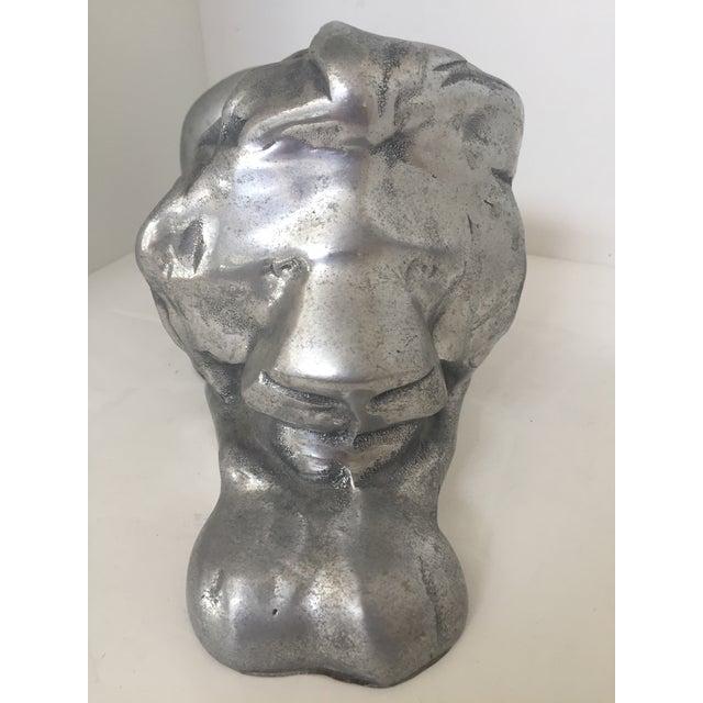 David Parker Aluminum Lion - Image 8 of 8