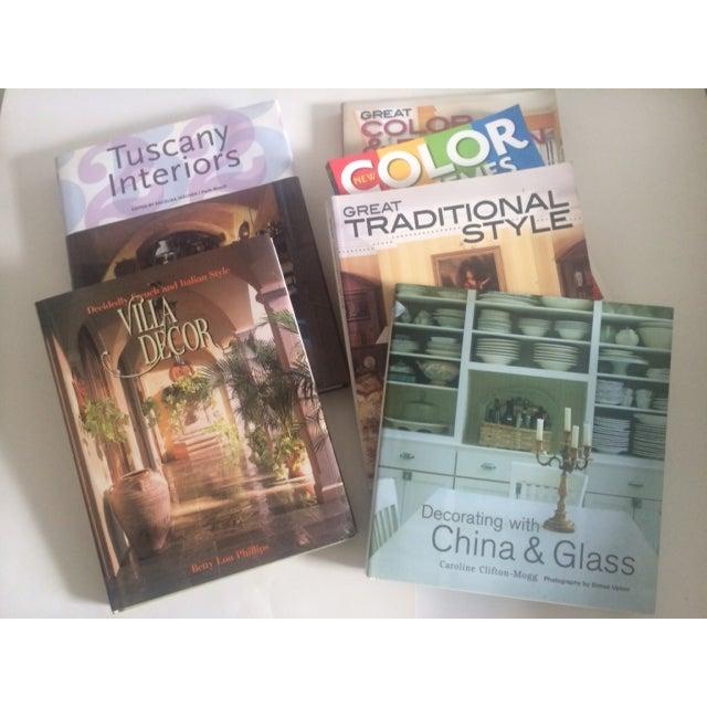 Image of Italian Decorating Coffee Table Books - Set of 6