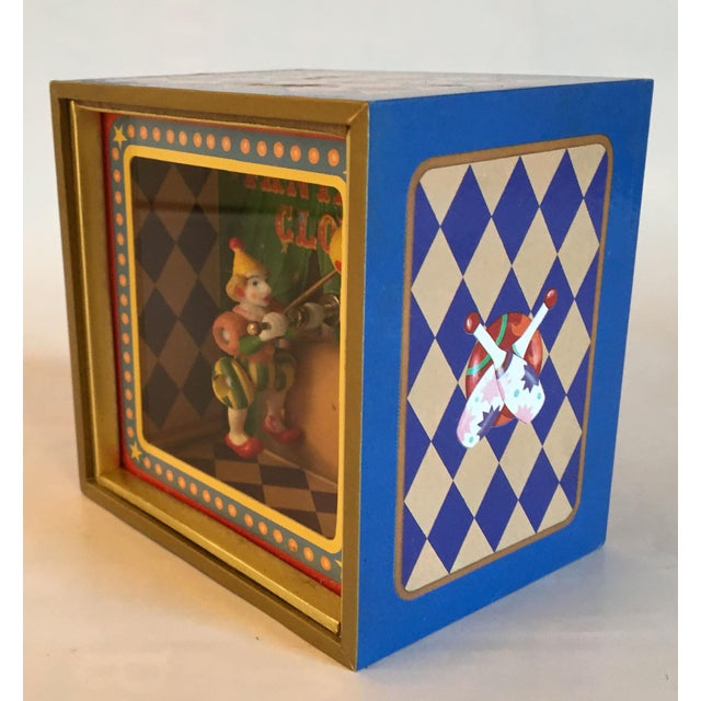 Vintage Music Box With Animated Clown Plays Bolero - Image 3 of 4