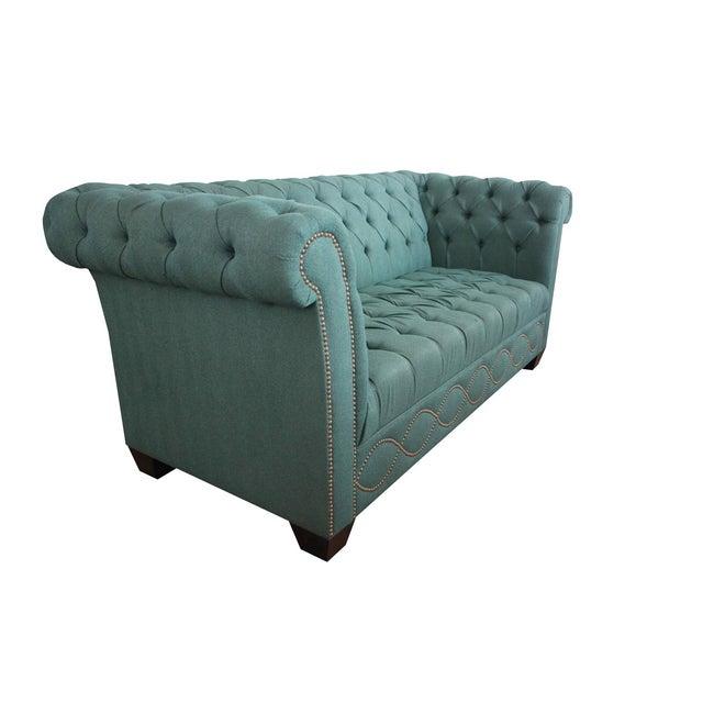 Kim Salmela Custom Chesterfield Sofa Chairish