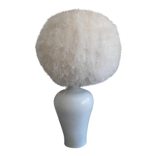 Cumulus Feather Pendant Light & Base