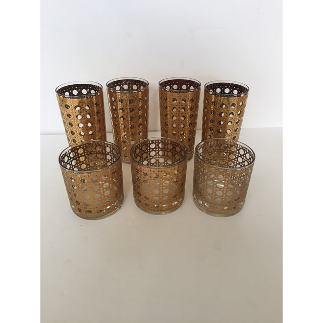 Image of Culver Canella Highball and Rocks Glasses