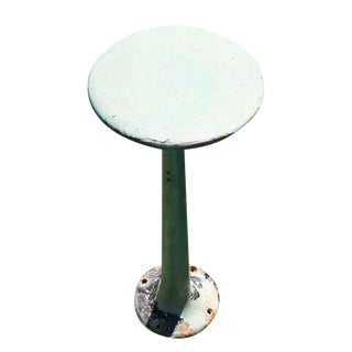 Round Metal Base Stool