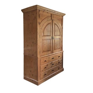 Armoire Made Out of Antique Pine from Maurices
