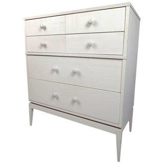 Kroehler Furniture White 4-Drawer Highboy Dresser