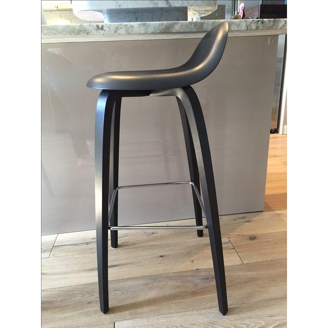 Gubi Danish Bar Stools - Set of 3 - Image 6 of 11