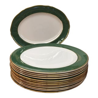 Wedgwood Bone China Chargers & Platter - Set of 13