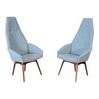 Adrian Pearsall 2153-C Armchairs - A Pair