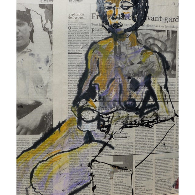 'Picasso & His Model' Drawing - Image 9 of 9