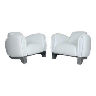 De Sede Pair of DS-57 Lounge Chairs