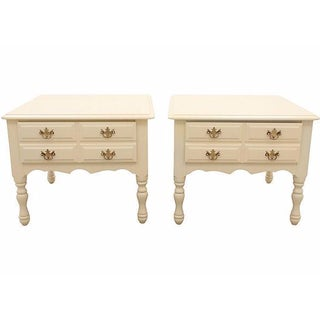 Chippendale Style Nightstands - A Pair
