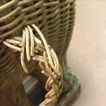 Image of Wicker Elephant Garden Stool