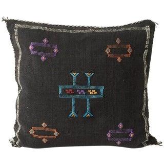 Black Sabra Pillow