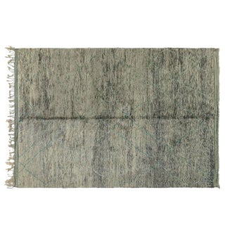 Teal Accent Moroccan Rug - 8′6″ × 12′1″