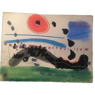 1968 Robert Cooke Original Painting