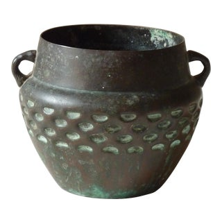 Arts & Crafts Bronze Vase