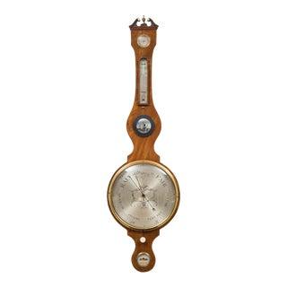 Antique Georgian Wheel Barometer