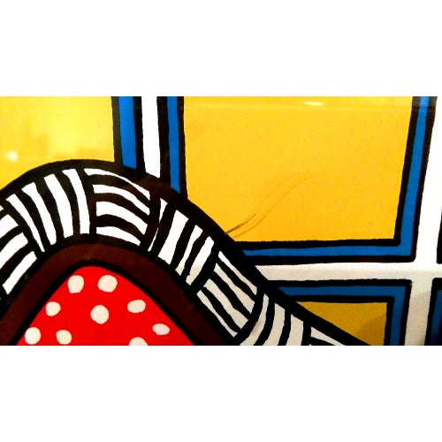 "Image of Mara Lynn Abboud ""Comforts Corner"" Serigraph"