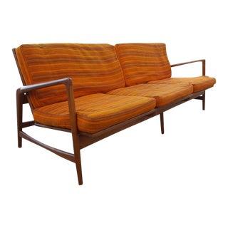 Ib Kofod-Larsen Danish Modern Teak Sofa