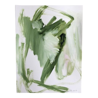 "Jessalin Beutler ""No. 28"" Acrylic Painting"