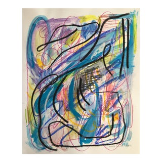 Jessalin Beutler Original Abstract Art on Paper