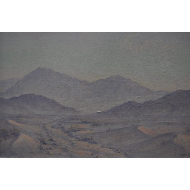 Image of Jean Coutts Desert Landscape Oil Painting