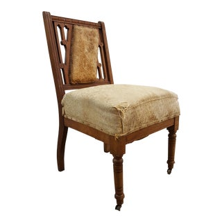 Unusual Aesthetic Movement Side Chair