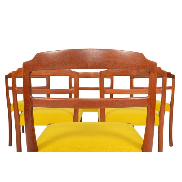 Ole Wanscher Teak Dining Chairs - Set of 6 - Image 6 of 8