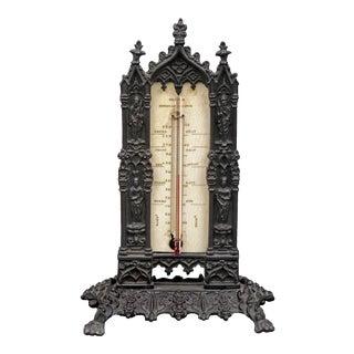 Bronze Desk Thermometer