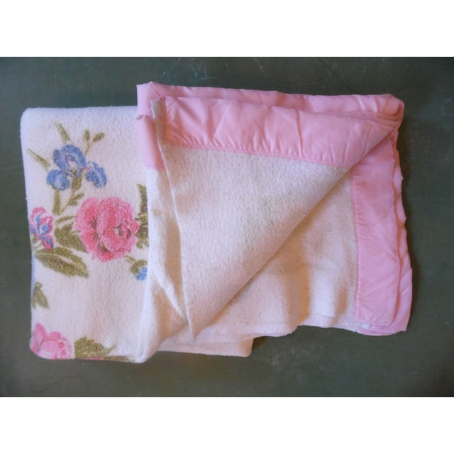 Vintage Shabby Chic Blanket - Image 2 of 5
