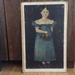 Image of Vintage Print of 19th Century Painting