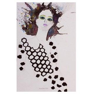 Vogue Fashion Illustration By Issa Abou-Issa