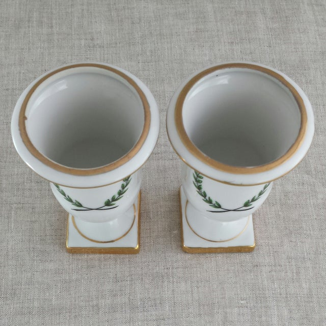Vintage Porcelain Toothpick Holders - A Pair - Image 6 of 8