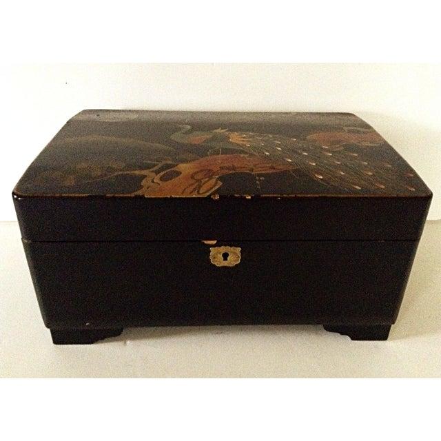 Large Japanese Jewelry/Music Box - Image 2 of 8