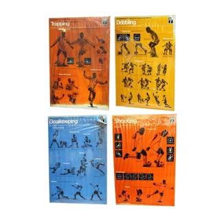 Pele Soccer Posters - Set of 4