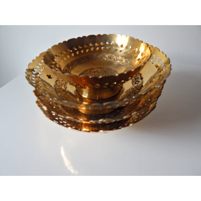 Ambika Brass Bowls - Set of 4 - Image 8 of 8