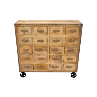 Emmerson Apothecary Cabinet on Casters