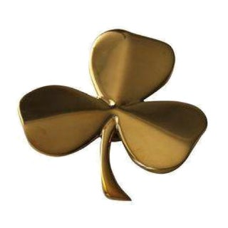 Brass Shamrock Door Knocker