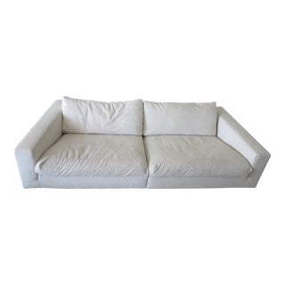 Frighetto White Italian Sofa