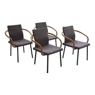 Ettore Sottsass for Knoll Mandarin Chairs - Set of 4