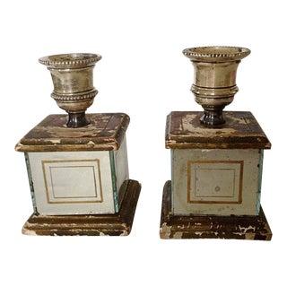 Florentine Candlesticks - A Pair