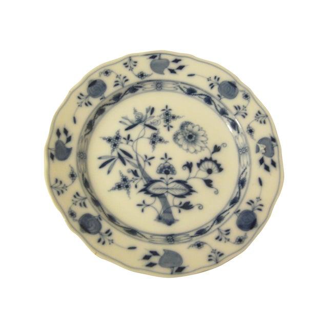 Meissen Blue & White Onion Pattern Porcelain Plate - Image 1 of 6