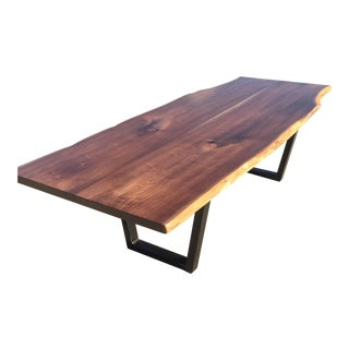 Black Walnut Live Edge Dining Table