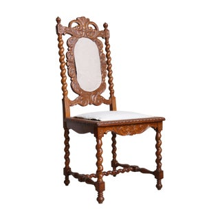 Victorian Baroque Revival Dining Chair