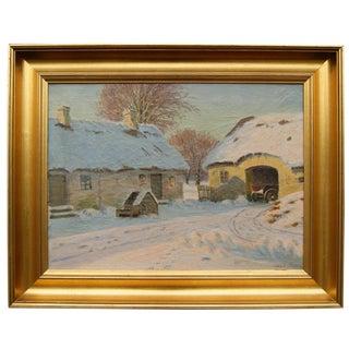 Winter Landscape by Alfred Larsen