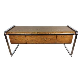 Peter Protzmann Zebra Wood Credenza for Herman Miller