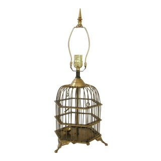 Currey & Co. Birdcage Lamp